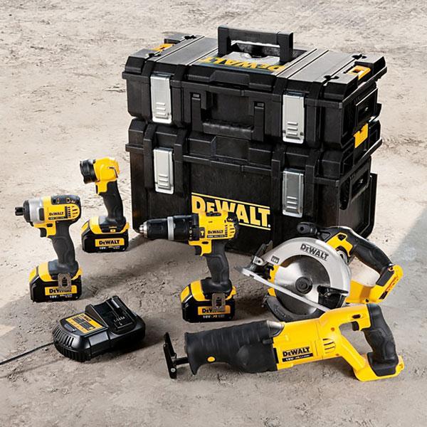 pack 5 outils dewalt