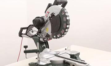 Comment utiliser une scie radiale à onglet ?