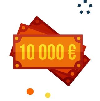 10000€ offert