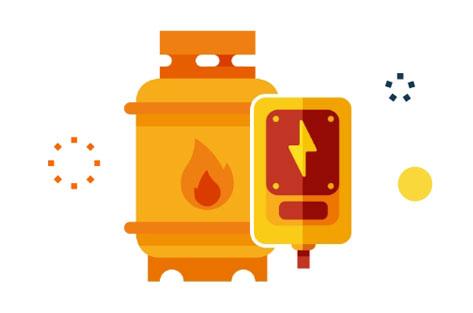 facture gaz/elec offert