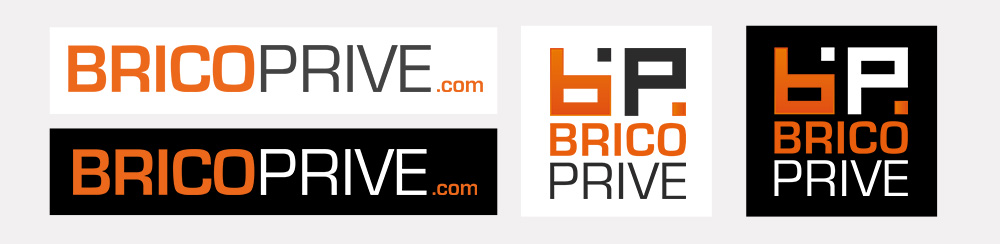 Logos Brico Privé