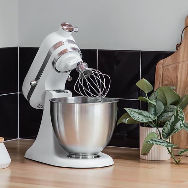 Robot pâtissier KitchenAid Mini blanc